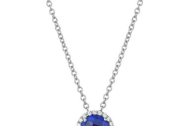 Lafonn Sapphire Birthstone Necklace