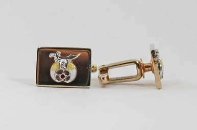 VINTAGE SHRINERS CUFF LINKS