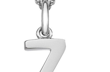 Sterling Silver Hot Diamonds Z Initial Necklace