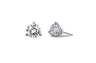 Lafonn .92ctw Sim Diamond Stud Earrings