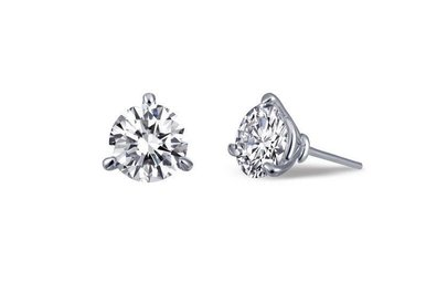 Lafonn 2.06ctw Sim Diamond Stud Earrings