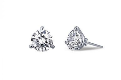 Lafonn 2.06ctw Sim Diamond Stud Earrings