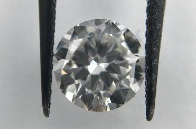 0.90ct F/VS1 (GIA) Transitional Round Brilliant Cut Diamond