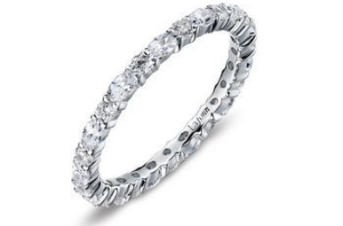 Lafonn Simulated April Birthstone Stackable Band, 26 stones 2.34ctw