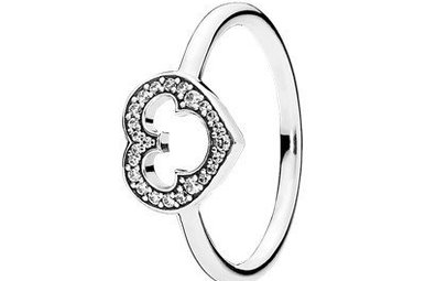 PANDORA Ring Disney, Mickey Silhouette - Size 52