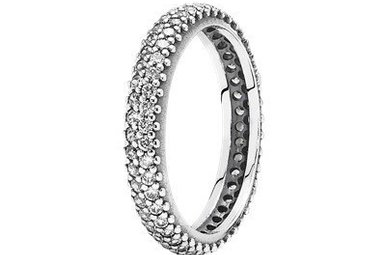 PANDORA Ring, Inspiration Within, Clear CZ - Size 50