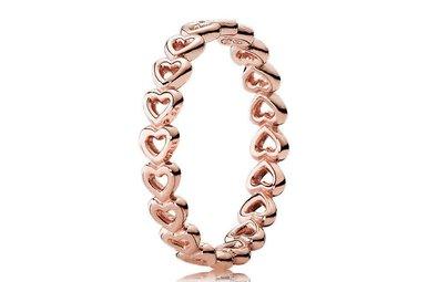 PANDORA Ring Linked Love PANDORA Rose - Size 52