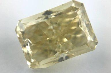 5.86ct Fancy Yellow/VS2 Radiant Cut Loose Diamond