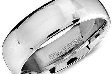 Cobalt 7mm Gents Torque Wedding Band, Size 10