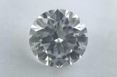 0.91ct F/SI1 (GIA) Round Brilliant Cut Diamond