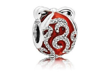 PANDORA Exclusive Holiday Charm & Ornament Inspired by the Radio City Rockettes