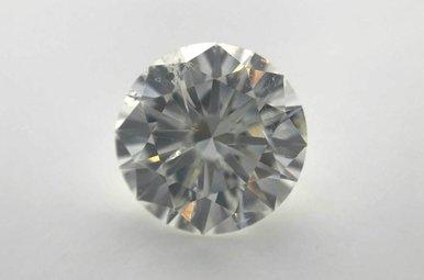 2.10ct F/I1 (AGS) Round Brilliant Cut Diamond