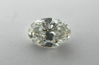 0.78ct H/SI2 (GIA) Oval Cut Diamond