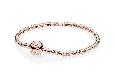 PANDORA Rose Smooth Bracelet - 23 cm / 9.1 in