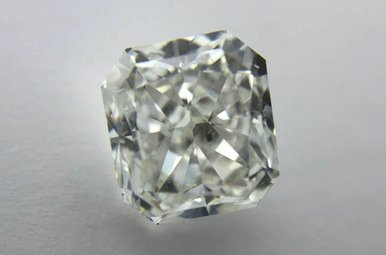 2.01ct G/SI1 (EGL USA) Square Radiant Cut Diamond