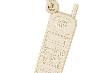 14ky Cordless Phone Charm