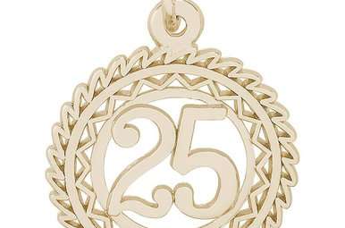 14ky Number Twenty Five Charm