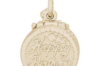 14ky Birthday Cake Charm