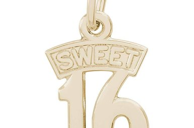 14ky Sweet Sixteen Charm