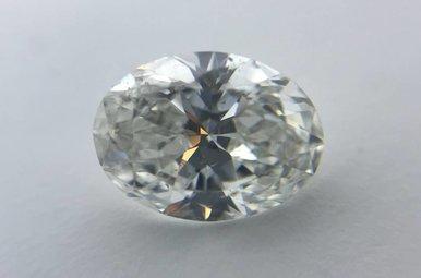 1.01ct F/SI2 (GIA) Oval Cut Diamond