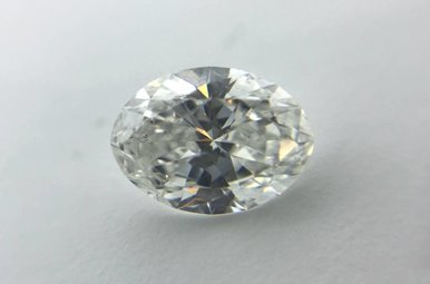 1.01ct G/SI2 (GIA) Oval Cut Diamond