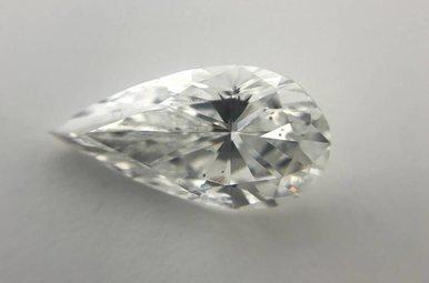 2.00ct D/SI2 (EGL) Pear Cut Diamond