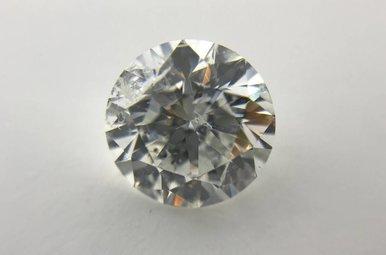 2.01ct E/SI3 (EGL USA) Round Brilliant Cut Diamond