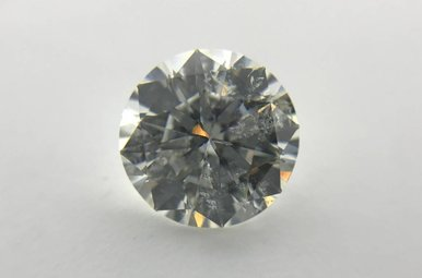2.04ct G/SI3 (EGL USA) Round Modified Brilliant Cut Diamond
