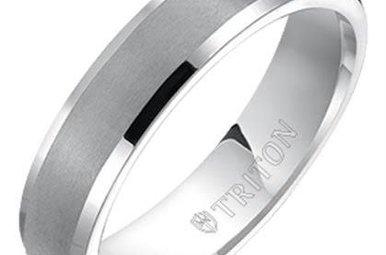 Tungsten 4mm Gents Wedding Band, Size 12