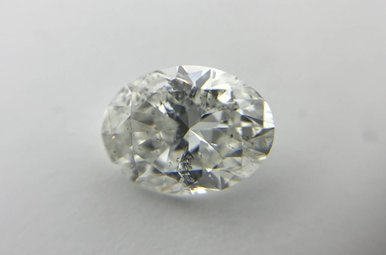 1.20ct G/SI2 (IGI) Oval Cut Diamond