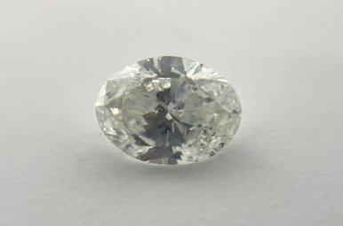 0.73ct E/SI2 (EGL INTL) Oval Cut Diamond