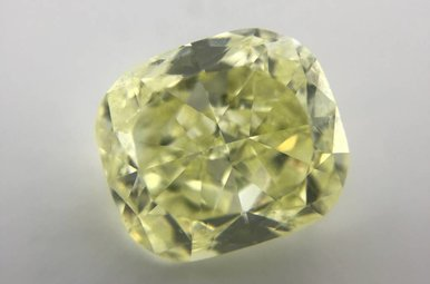 5.87ct Fancy Yellow/VS2 (GIA) Cushion Cut Diamond
