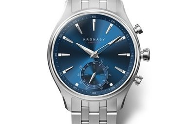 Kronaby Sekel 41mm Blue, Bracelet A1000-3119 Watch