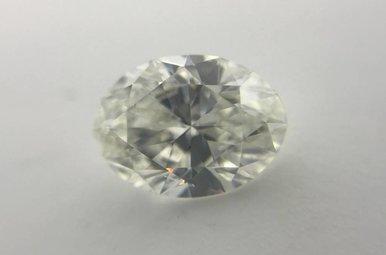 1.52ct H/SI1 GIA Oval Cut Diamond