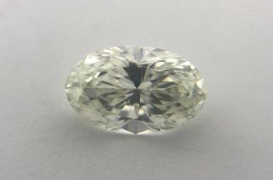 1.00ct J/VS1 GIA Oval Cut Diamond