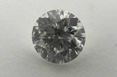 .91 G/I1 Round Brilliant Cut Diamond