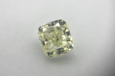 1.50ct Fancy Light Yellow/ VS2 (EGL USA) Cushion Cut Diamond