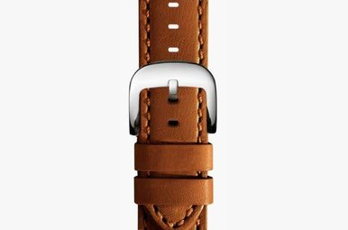 Shinola Watch Strap 24mm Tan Largo