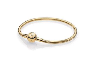 PANDORA Shine Smooth Bracelet - 18 cm / 7.1 in