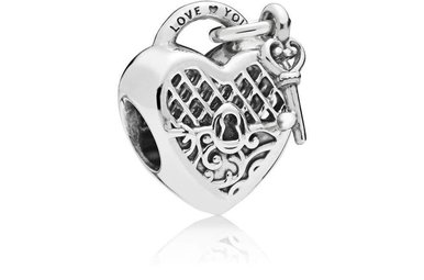 PANDORA Charm, Love You Lock