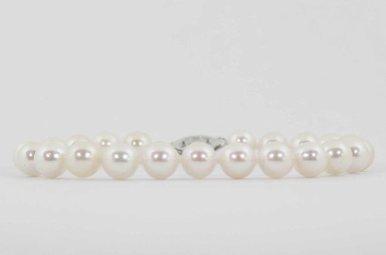 "14kw 7"" 6-6.5mm Akoya Pearl Strand Bracelet"