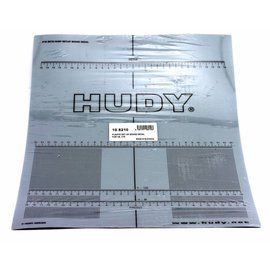 Hudy Plastic Set-up Board Decal for 1/8, 1/10