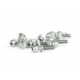 Avid RC 5.5mm B6 Titanium Ball Studs Kit