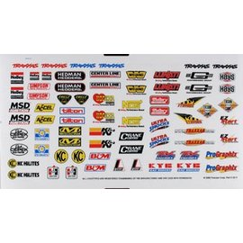 Traxxas TRA2514 Sponsor Decal Sheet