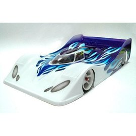 CRC 1/12 Audi R8c LeMans Prototype Clear Body