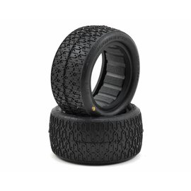 J Concepts Dirt Webs 2.2 Gold Rear Buggy Tires w/Dirt Tech Inserts (2)