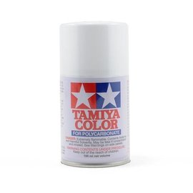 Tamiya TAM86001  PS-1 Polycarb Spray White 3 oz