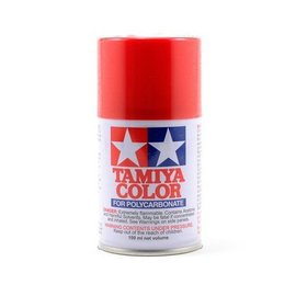 Tamiya TAM86002 PS-2 Polycarb Spray Red 3 oz