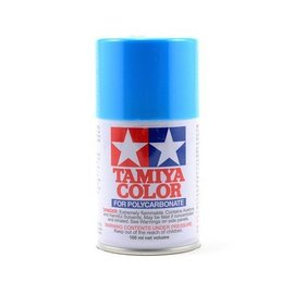 Tamiya TAM86003  PS-3 Polycarbonate Spray Light Blue 3 oz