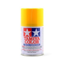 Tamiya TAM86006  PS-6 Polycarb Spray Yellow 3 oz